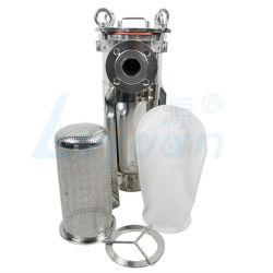 SS304/316 Logement du filtre à liquide en acier inoxydable et d'eau du boîtier de filtre de sac de filtration du vin
