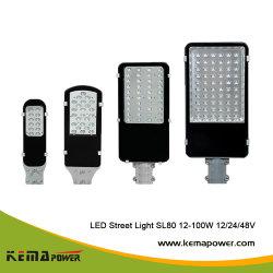 SL80 LED Kemapower Lâmpada de rua para jardim Sport Statium