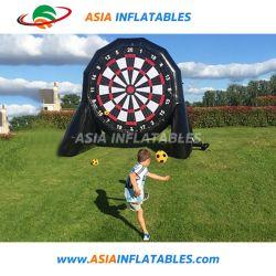 El uso comercial de Velcro inflable Fútbol Dart para juego de deportes