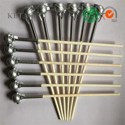 アルミナの陶磁器の熱電対の管の保護管