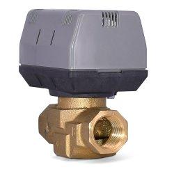 Ventilateur de l'unité de bobine de l'eau 1.6MPa laiton distributeur motorisé