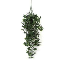 As plantas verdes folhagens Decoração de parede vinha de uvas de plástico para restaurante