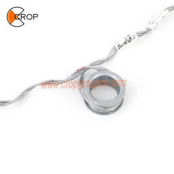 """Armatura elicoidale Rod del morsetto della sospensione di ADSS con l'anello """"della O"""" per il cavo ottico della fibra"""