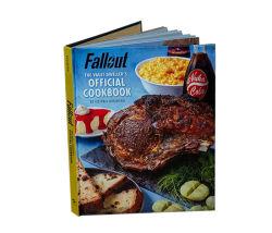 El arte de laminación de la familia Menú de Comida de papel de impresión de la receta del libro de cocina