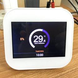 Britse Standaard Slim Gas WiFi/Elektrisch/De Thermostaat van /Conventional van de Warmtepomp/van de Fossiele Brandstof