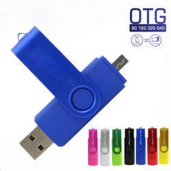 Aandrijving van de Flits USB 9 de Aandrijving van de Pen van de Telefoon van Kleuren OTG 8GB 4GB Pendrive 64GB 32GB 16GB