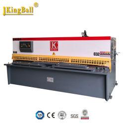 Hydraulische Metallblatt-scherende Maschine/Ausschnitt-Maschine QC12y-20X2500