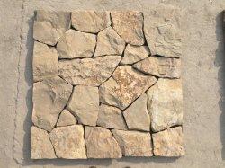Rivestimenti esterni parete rivestimenti decorativi a buon mercato naturale forma irregolare sciolto Pietra pietra di coltura dell'ardesia
