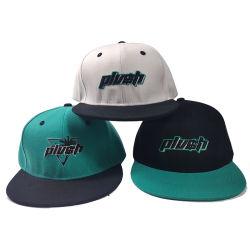 Lo Snapback su ordinazione ricopre le protezioni piane del cappello di Hip Hop Bill della Cina del plaid dell'urto di Hip Hop di marca della fabbrica del fornitore del fronte della protezione poco costosa del papà
