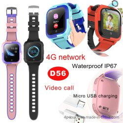 IP67 imprägniern Aufruf-Uhr-Telefon der GPS-Kind-PAS intelligentes video