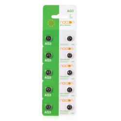Konkurrenzfähige Preis-Tasten-Zellen-Uhr-Batterie Lr44 AG13 1.5V alkalisch