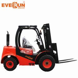 エベランニューチャイニーズエルトフ 25 2.5t 中国 EPA Industrial Transmision All テレインホイール小型ディーゼル小型フォークリフト車両の車両価格 販売