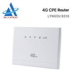 Modem senza fili del router di CBE WiFi del router 300Mbps 4G Lte di Lyngou LG194 4G WiFi con la fessura per carta B310, B525 di SIM