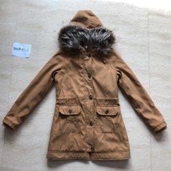 2020 Nouveau Design Fashion hiver chaud Lady Parka Coat Veste Fausse Fourrure à capuchon