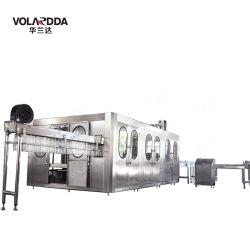 ماكينة تعبئة المياه لمنع تسرب زجاجات المياه من خط التعبئة بمياه البيع الساخن
