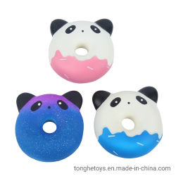 Design grossista estresse Licenciados Reliever Panda Brinquedos Kawaii Subida Lenta Squishy espuma de PU Panda Brinquedos