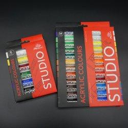 Art Definir Qualidade Premium 24 cores 12ml Conjunto de tintas acrílicas