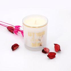 Deja que tu luz brillo 4,5oz vela de jar de cristal para la boda Decoración