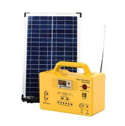 음악 제어판이 있는 다기능 실외 Solar Lightingsolar Energy System