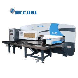 tôle de poinçonnage CNC Machine 30t 50t Punch Appuyez sur la machine