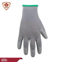 La construcción de revestimiento de PU antideslizante punción y cortar la prueba de guantes de trabajo