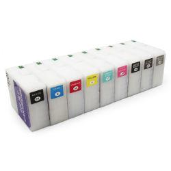Ocbestjet T5801-T5809 rellenable con sensor de vacío de chip del cartucho de tinta para Epson Stylus Pro 3800 Impresora