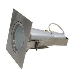 Quadratische örtlich festgelegte MR16 GU10 LED Beleuchtung-Befestigung vertiefter Punkt-Licht-Rahmen