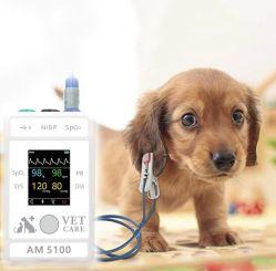 مقياس أكسيمتر بيطري و علامة حيوية لمراقبة ضغط الدم وSpO2 تطبيق Bluetooth لمعدل نبضات القلب