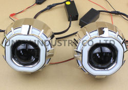 H7 H11Projecteur HID Kit avec des projecteurs bi-xénon HID de 2,5 pouces objectif du projecteur de motocyclette lentille de projecteur à LED Projecteurs bi-xénon