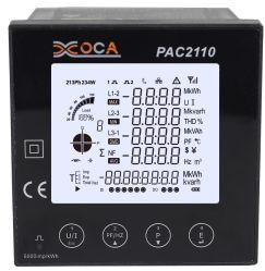 PAC2110 Multifunktions-Smart WiFi LCD-Panel Digital Wireless Power Meter