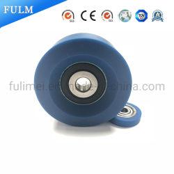 Cuscinetti a sfera di plastica della puleggia del PVC del nylon/POM/della fabbrica della puleggia