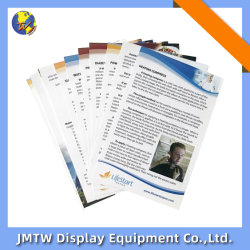 La revista Catálogo de alta calidad de impresión de folletos para la tienda con la personalización de Personal