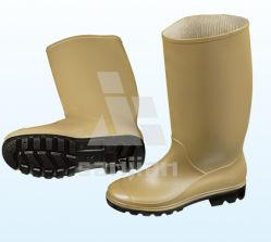 Jy-6246 Botas de lluvia de caucho de plástico barato