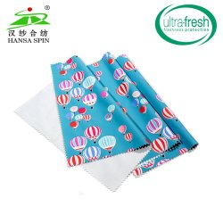 Textiles de Fuzhou Venta caliente Cartoon tela impresa con PVC PU ecológica para niños