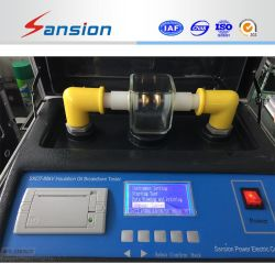 Óleo de isolamento dielétrico, Testador de força 100kv Bdv óleo de transformador Repartição testador de tensão Óleo Portátil Bdv Analyzer -Sxot-II
