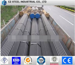 ASTM API 5L 5CT X52の黒いカーボン継ぎ目が無い鋼管