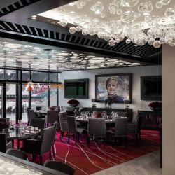 Les luminaires lustre en cristal Salle à manger de pièces LED pour la décoration du restaurant