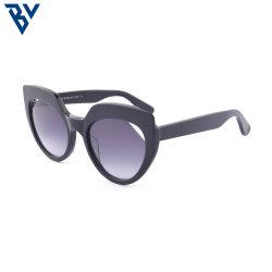 BV Mazzucchelli ручной работы ацетат овальный УФ400 поляризованной вилкой для мужчин и женщин солнечные очки