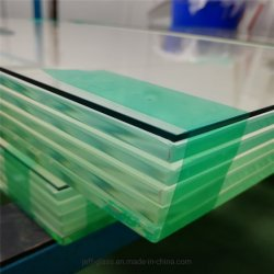 En Verre feuilleté composite / Couleur pour la construction de verre Chambre de Jade