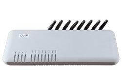De Gateway van VoIP met 8 CDMA Kanalen COIP8