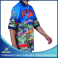 Пользовательские группы с термической возгонкой Sublimated или клуб расы футболки на заказ