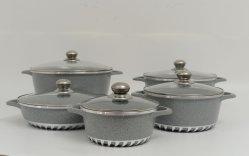 10 Juego de utensilios de cocina para revestimiento de granito PCS