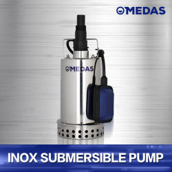Edelstahl elektrische Inox versenkbare Pumpe mit Niveauschalter