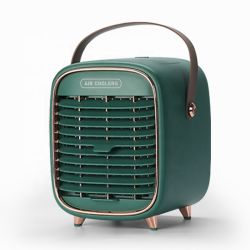 Home pequeno computador portátil ventilador de condicionador de água por evaporação Mist pilhas portáteis pessoais mini USB do arrefecedor de ar