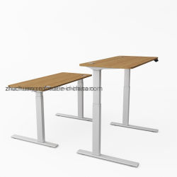 La naturaleza eléctrica de pequeña oficina en casa de bambú mostrador de recepción de los niños podio