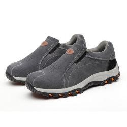 أحذية Dropsend الجلدية المقاومة للماء CE S1p S3 السلامة في العمل الأحذية