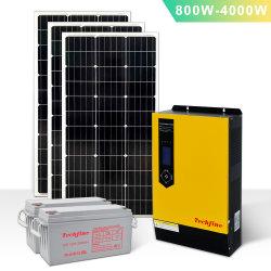 1kVA 800W 12V DC para 220V AC Inversor de Energia Solar