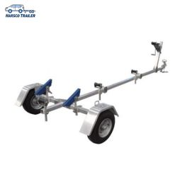 400kg 용량 단일 차축 접이식 보트 트레일러 - 3650mm X 1,550mm
