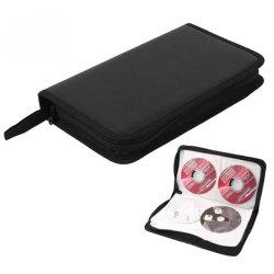 Personalizzato 24 64 80 120 160 320 sacchetti CD dell'unità di elaborazione dell'organizzatore del raccoglitore VCD di memoria della cassa del supporto DVD del disco