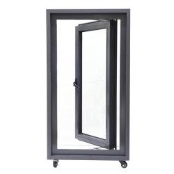 50 Openslaand raam van het Aluminium van de reeks het nietThermische Gebroken voor de Bouw Matrail
